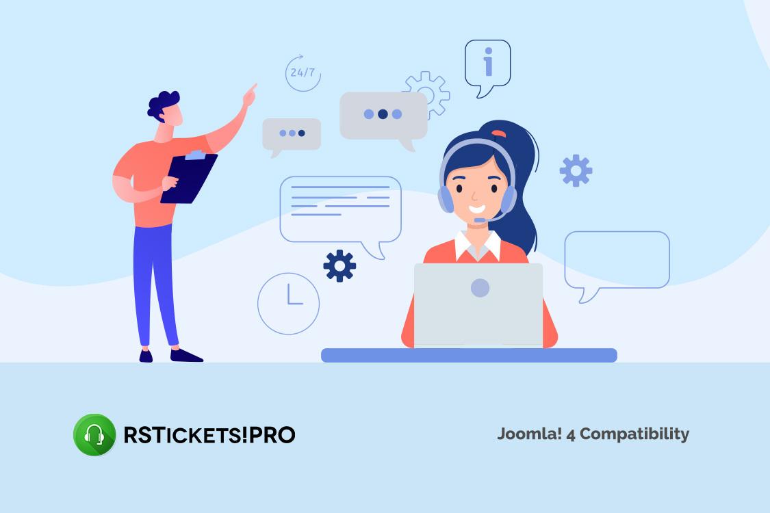 RSTickets!Pro 3.0.0 - Joomla! 4 compatible