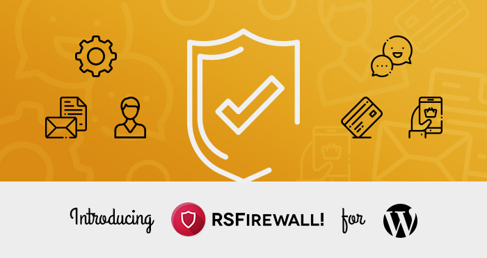 RSFirewall for WordPress!