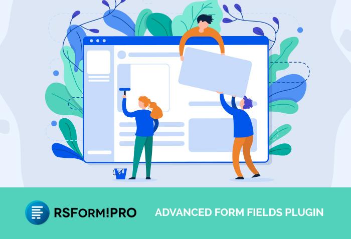 RSForm!Pro Advanced Form Fields plugin