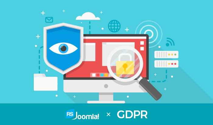 RSJoomla!'s approach to GDPR compliance