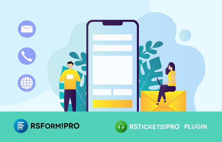 RSForm!Pro - RSTickets!Pro integration