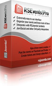 Joomla!® Event & Calendar