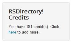 credits module