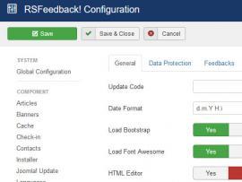 RSFeedback! Configuration