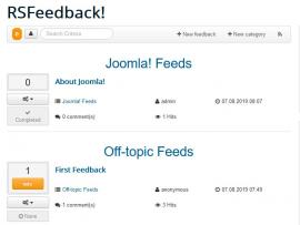 Feedback view