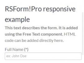 form responsive 320x480