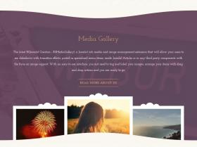 Page Example - Mauve Theme