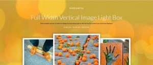 Full Width Vertical Images