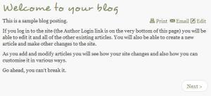 Joomla Content article before CSS override