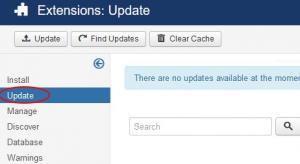 Joomla! Extension Manager Updates