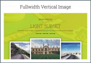 Full Width Vertical Image