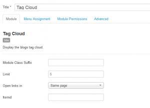 RSBlog! tag cloud module