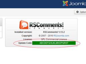 RSComments! License Code