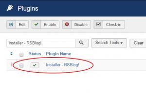 Installer - RSBlog!