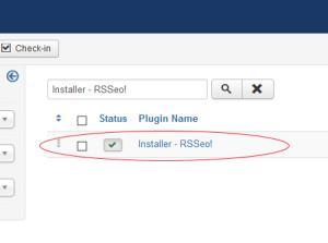Installer - RSSeo!