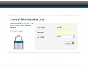Administration login