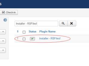 Installer - RSFiles!