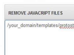 RSSeo! Remove JavaScript Files from a page