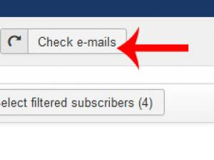Check emails in RSMail! Subscribers area