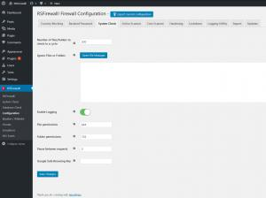 RSFirewall! Configuration System Check
