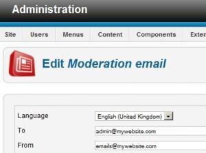 Multi-language emails