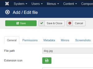 Adding or Editing a file