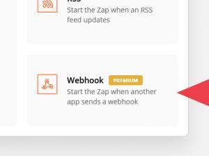 Add a Webhook app