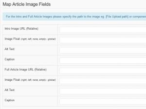 RSForm!Pro Joomla! articles plugin - article image fields