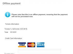 RSEvents!Pro Offline Payment Plugin