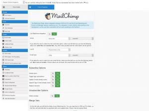 RSForm!Pro Mailchimp Plugin with tags