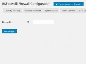 RSFirewall! Updates