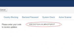 RSFirewall! Update Code