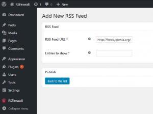 RSFirewall! Feeds