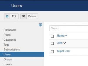 RSBlog! List of users