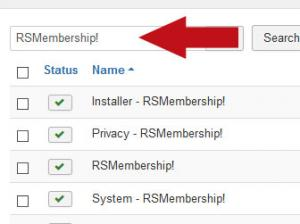 Search for RSMembership!