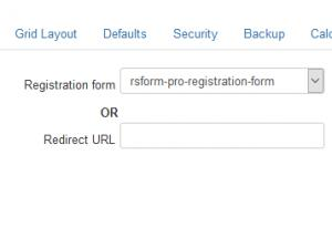 Components > RSForm!Pro > Configuration area