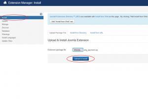 RSForm!Pro Payment Plugin Install