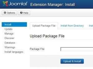 Upload & Install
