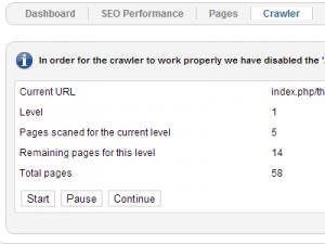 Crawler index process