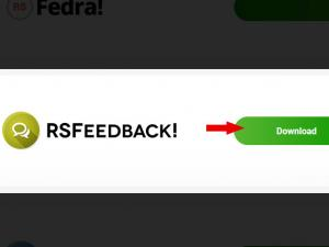 Download RSFeedback! from our website