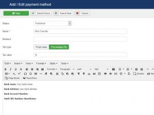Payment Integrations - Offline