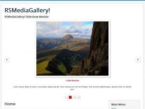 RSMediaGallery! Slideshow Module