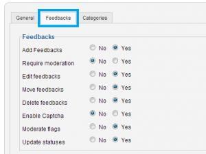 RSFeedback! permissions