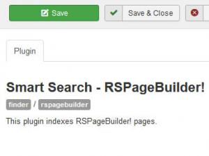 RSPageBuilder! Smart Search Plugin