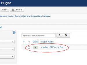 Installer - RSEvents! Pro