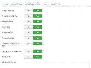 RSSeo! System Plugin - CSS/JS Optimizations