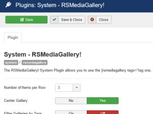 System plugin configuration.