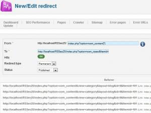 Improved Redirects feature