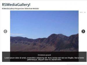 RSMediaGallery! Responsive Slideshow Module