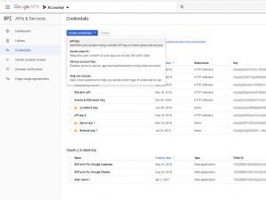 RSFirewall! Google Web Risk API Credentials